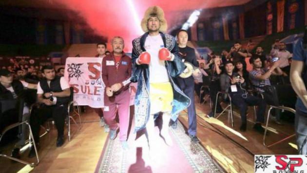 WBO Global белбеуі үшін жұдырықтасқан Ербосынұлы нокдаунға түсіп тұрып жеңіске жетті
