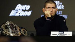 Хабиб Нурмагомедов UFC-де жұдырықтасудан бас тартты