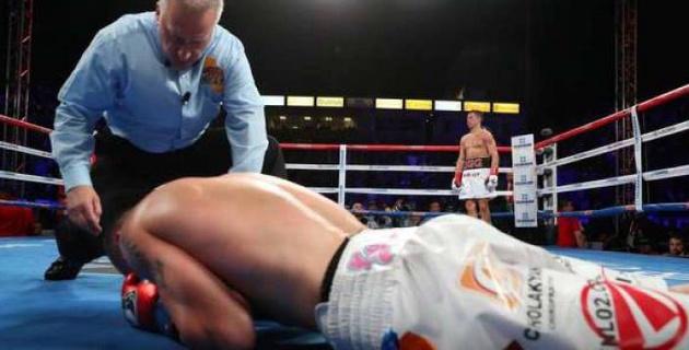 Америкалық боксшы Головкиннен нокаутқа түскененн кейін карьерасын аяқтады