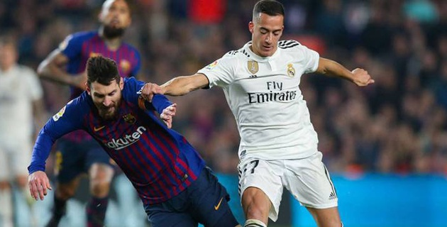 """Бір айда үш  қайталанатын Эль-Класиконың алғашқысында """"Барселона"""" және """"Реал"""" тең түсті"""