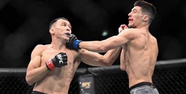 Ысмағұлов UFC-дегі екінші жеңісінен кейін ауруханадағы суретін жариялады