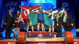 Лас-Вегастағы әлем чемпионатында Қазақстан құрамасының барлық атлеті алтын иеленді