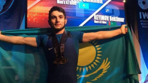 Әлемдік рекорд орнатқан қазақстандық спортшы әлем біріншілігінде үздік ауыр атлет атанды