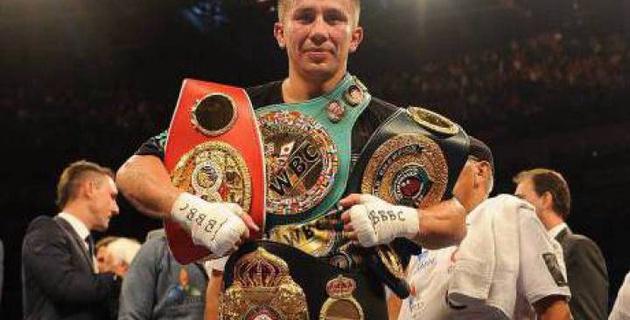 Геннадий Головкин жеңіліп көрмеген 5 үздік боксшының тізіміне енді
