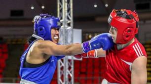 Қазақстандық боксшы қыз Азия чемпионтының финалына жете алмады