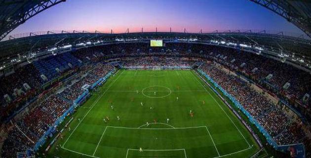 Футболдан Қазақстан құрамасы әлем чемпионатын қабылдаған стадионда ойнайды