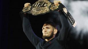 Хабиб Нурмагомедов UFC тарихындағы ең қымбат спортшыға айналды
