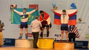 Қазақстан Фиджидегі ауыр атлетикадан жастар арасындағы ӘЧ-де алғашқы жүлде иеленді