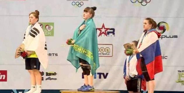 Қазақстан Фиджидегі ауыр атлетикадан жастар арасындағы ӘЧ-де алтын жеңіп алды