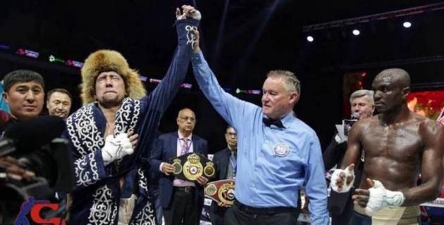 Айдос Ербосынұлы WBA, WBC және WBO жүйесіндегі титулдарын қорғайтын күн белгіленді