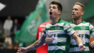 Футзалдан Қазақстан құрамасының ойыншысы Португалия чемпионатында әдемі гол салды