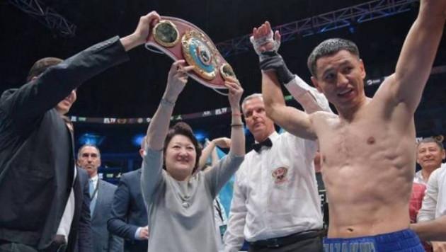 Жанқош Тұраров аргентиналық боксшыны жеңіп, WBO чемпионы атанды