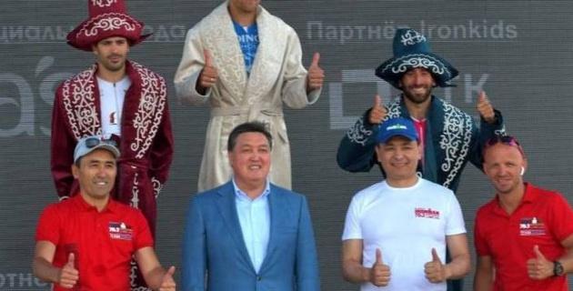 Смағұлов, Винокуров, Мәсімов. Елордада өткен Ironman 70.3 жарысына кімдер қатысты