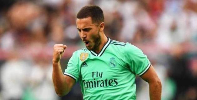 """""""Реал"""" үшін алғашқы голын соққан Азар командасын жеңіске жеткізді"""
