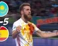 Қазақстан мен Испания арасындағы кездесудің видеошолуы